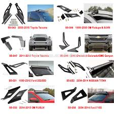 Led Light Bar Brackets by Auto Steel Front Bumper Bracket Windscreen Brackets For Light Bar