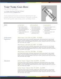 excellent resume templates the resume template resume exle
