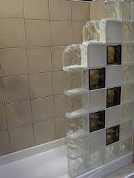glass block wall designs home design ideas