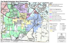Ohio Sales Tax Map by Far South Columbus Area Commission