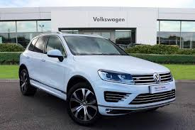 touareg volkswagen 2015 used 2015 volkswagen touareg 3 0 tdi v6 r line bmt scr 262ps