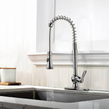 Kitchen Faucet Industrial by Stylish Industrial Kitchen Faucet Sprayer U2014 Railing Stairs And