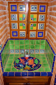 Lovely Mexican Tile Bathroom Ideas For Your Home Decorating Ideas