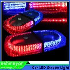 magnetic base strobe light eshineyon car truck 12v emergency warning beacon police strobe