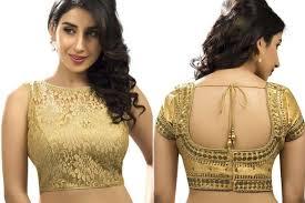 best blouse 20 golden blouse designs wedlockindia com