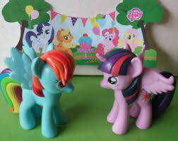 my pony cupcake toppers my pony cake etsy