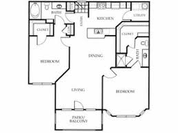 Lakeside Floor Plan Lakeside At La Frontera Rentals Round Rock Tx Apartments Com