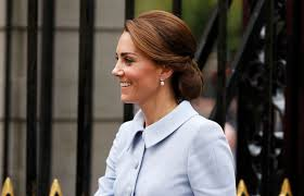 the duchess of cambridge arriving at the mauritshuis in the hague