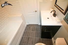 Bathroom Tiles Toronto - easy bathroom before u0026 after toronto leslieville bathroom