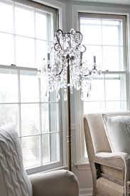 Home Interior Lamps Decor Wonderful Chandelier Floor Lamp For Fascinating Home