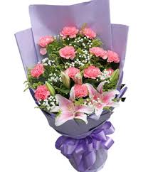 carnation bouquet thank you in may carnations flower bouquet delivery in china at