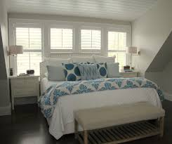 Bedroom Bed In Front Of Window Orchard Street U2014 Molly Frey Design