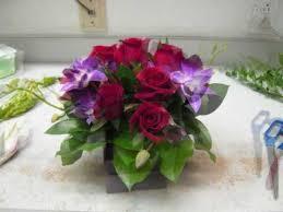 cube vase fresh flower centerpiece valentine special with heart