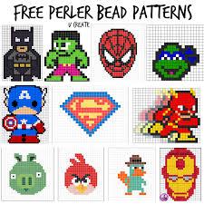 free perler bead patterns for kids u create
