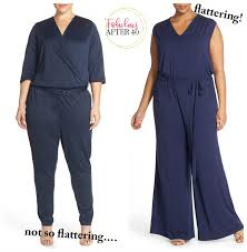 how to wear a jumpsuit how to wear a jumpsuit after 40 if you are plus size