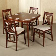 5 piece card table set 5 piece card table and chair set chair sets pinterest