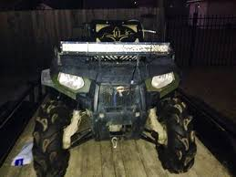 Atv Led Light Bar by Show Me How Your Light Bar Is Mounted Page 4 Polaris Atv Forum