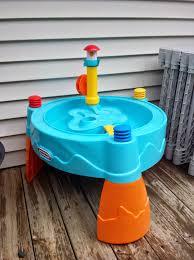 triplets toddler backyard fun