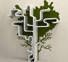Tree Branch Bookshelf Diy Functional Floating Shelves For Home Ultimate Home Ideas