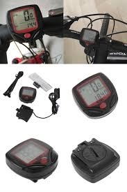 visit to buy clock stopwatch digital lcd bicycle computer