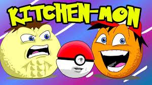 annoying orange kitchen mon pokemon spoof youtube