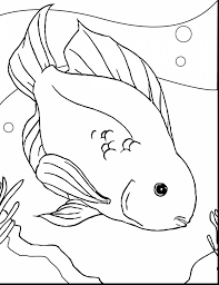 stunning tuna fish coloring page with fishing coloring pages