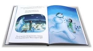 My Magic Name Personalised Story Books A Fab The Snowman And The Snowdog Starring Your Child