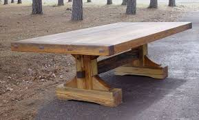 Custom Built Dining Room Tables by Rustic Lodge Log And Timber Furniture Handcrafted From Green