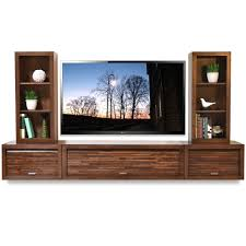 wall mount tv stand with shelf floating entertainment center wall mount tv stand eco geo mocha