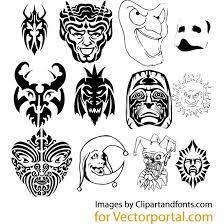 imagenes vectoriales gratis máscaras vectoriales gratis juego descarga en vectorportal
