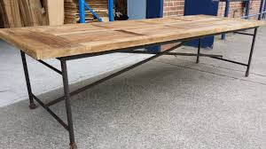 3 Metre Dining Table Image 1 Garage Pinterest Industrial Trestle Dining
