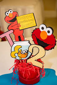 Elmo Centerpieces Ideas by 301 Best Sesame Street Party Ideas Images On Pinterest Sesame