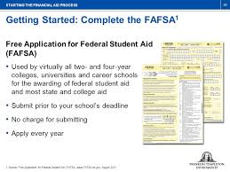 understanding the financial aid process and college savings