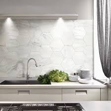hexagon tile kitchen backsplash marble hexagon follow us on instagram concepttiles toowoomba