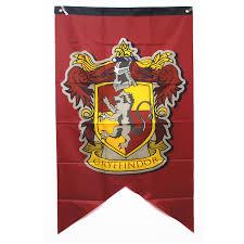 College Flag Harry Potter Banner Gryffindor Slytherin Hufflerpuff Ravenclaw