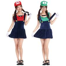 Mario Womens Halloween Costume Cheap Mario Halloween Costume Aliexpress