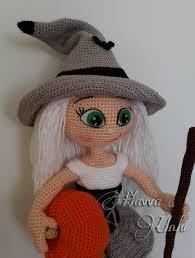 amigurumi witch pattern pattern cute witch crochet amigurumi por havvadesigns en etsy