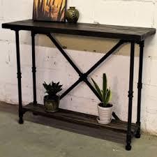 Outdoor Sofa Table by Industrial Console U0026 Sofa Tables You U0027ll Love Wayfair