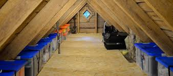 shelving attic storage solutions