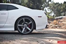 chevy camaro with rims vossen wheels chevrolet camaro vossen cv3r
