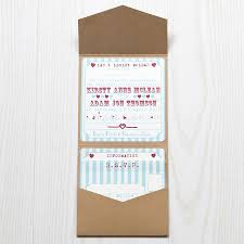 pocketfold invitations pocketfold wedding invitation heart funfair by lovely jubbly