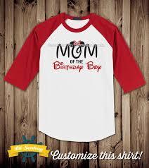 mickey mouse birthday shirt of the birthday boy raglan shirt birthday by lilseabag
