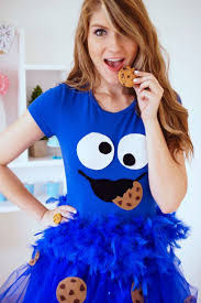girly halloween costume cookie monster halloween costume