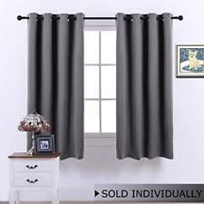 Short Length Blackout Curtains Blackout Curtains Ebay