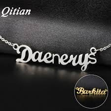 name necklaces cheap online get cheap custom name necklaces aliexpress alibaba