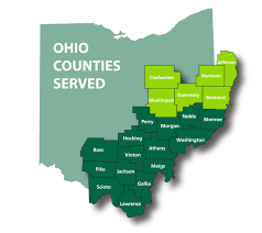 Ohio University Map by Heritage College Of Osteopathic Medicine Athens County Breast