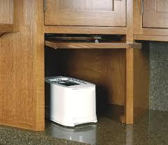 garage door for kitchen cabinet appliance garage with flip up retracting door craftsman