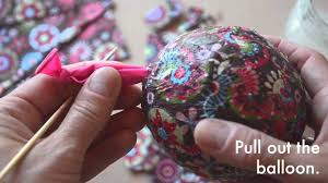 paper mache easter eggs make your own papier mache easter eggs