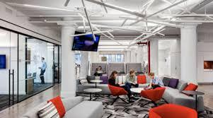 open office lighting design facilities management news cetraruddy new open office design for
