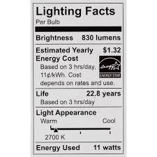 phillips a19 dimmable led light bulb 2700k 60 watt equiv